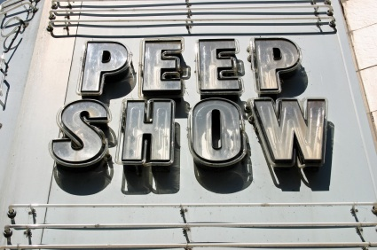 peep show The former high school cheerleader and Dairy Queen employee first got her ...
